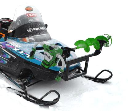 Jaws Of Ice On Polaris ATV