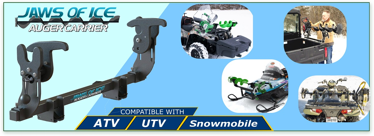 Jaws Of Ice Auger Mount